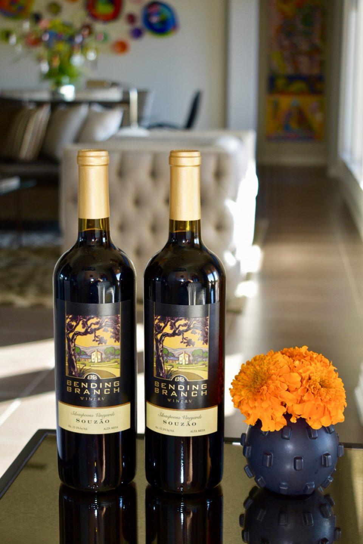 Bending Branch Winery Souzão 2015, Siverspoons Vineyard