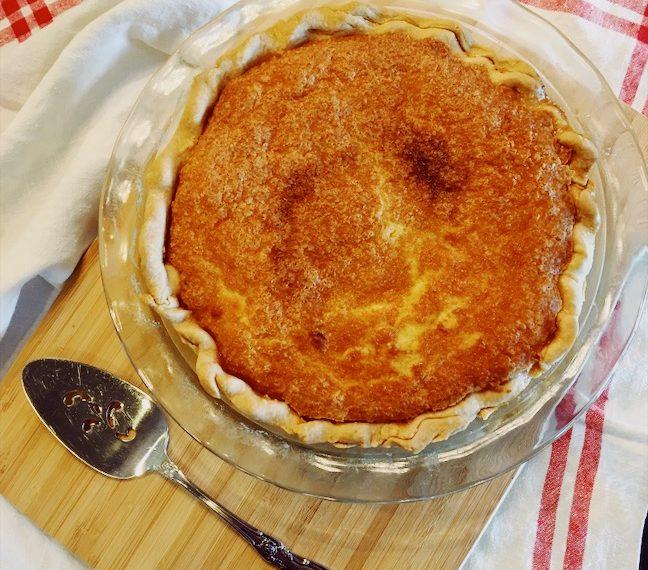 Rustic Buttermilk Pie