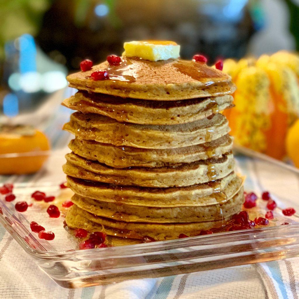 Pumpkin Ricotta Pancakes