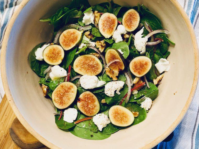 Fig & Mozarella Di Bufala Salad
