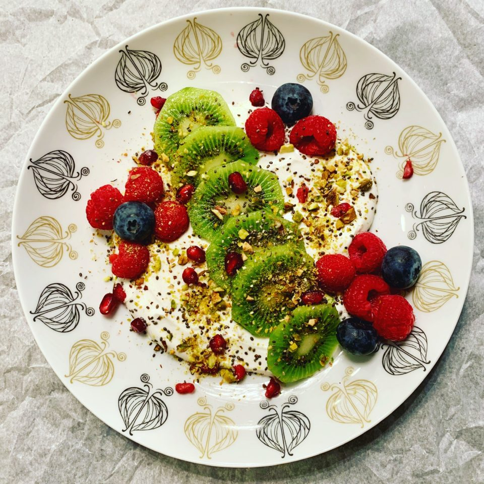 Loaded Yogurt w/Kiwi & Berries