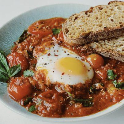 Shakshuka (Eggs in Tomato Sauce)