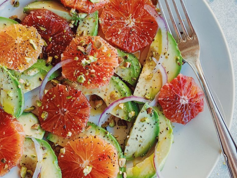 Blood Orange & Avocado Salad