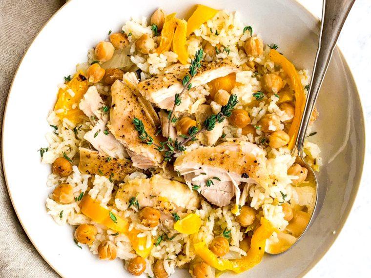 Chick Peas, Rice & Chicken