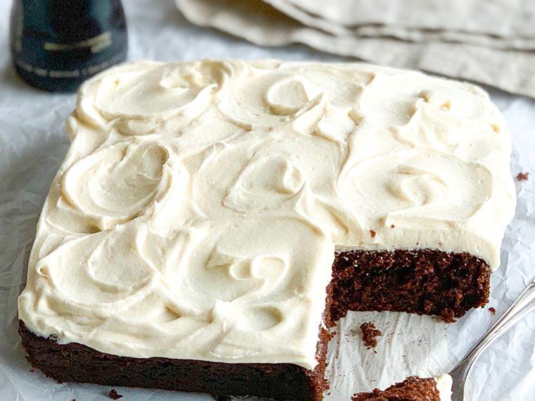 Chocolate Guinness Cake by Katiebird Bakes