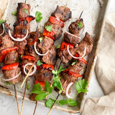 Asian Anticuchos (Beef Kabobs)