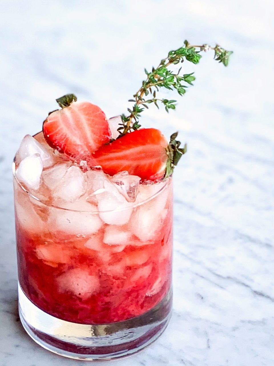 Strawberry Thyme Smash