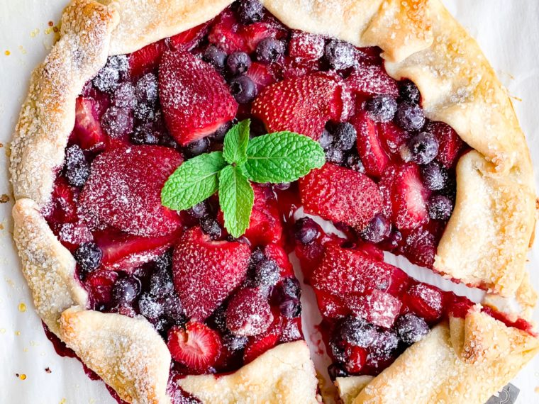 Poteet Strawberry Galette