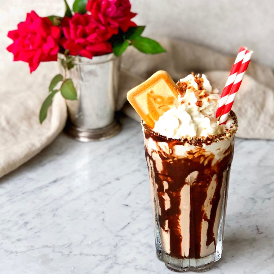 Kentucky Derby Pie Milkshake