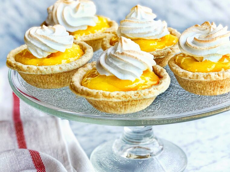 Lemon Meringue Mini Tarts