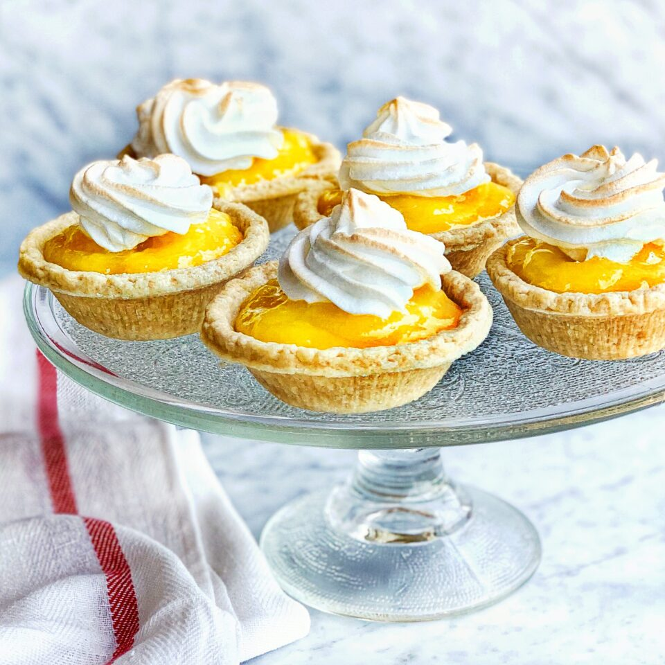 Lemon Meringue Mini Tarts