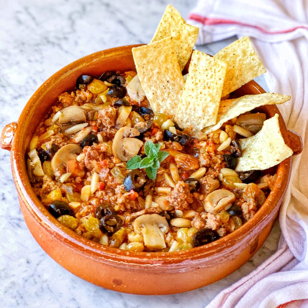 Party Picadillo Dip