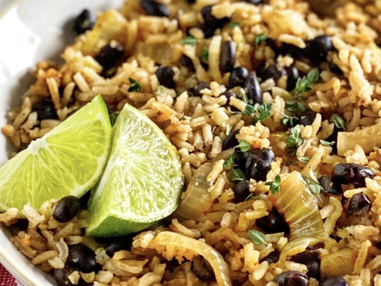 Creole Black Bean Rice