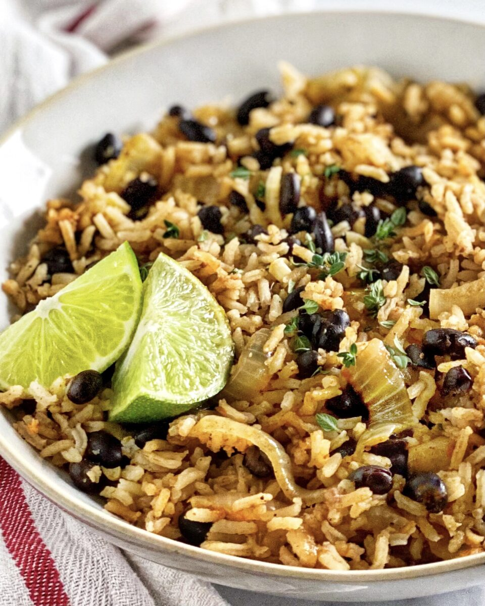Creole Black Bean Rice