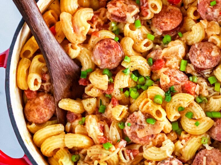 Creole Pasta w/Andouille Sausage