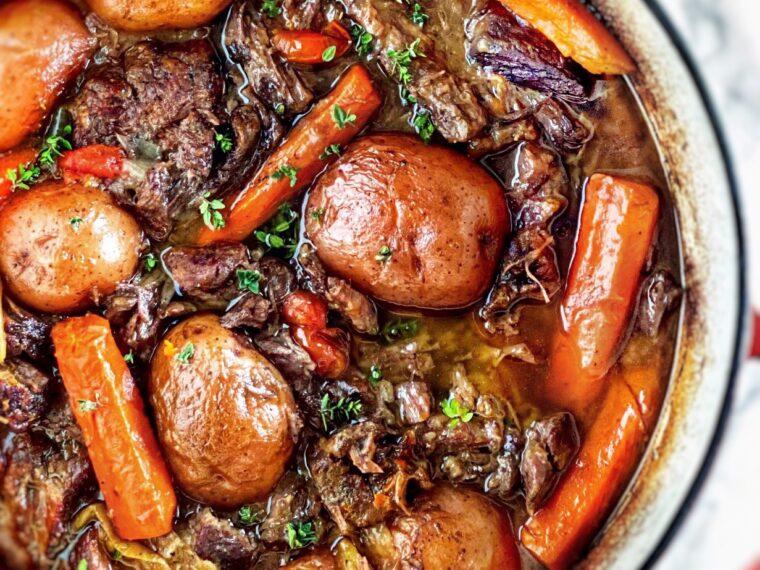 Slow Braised Pot Roast